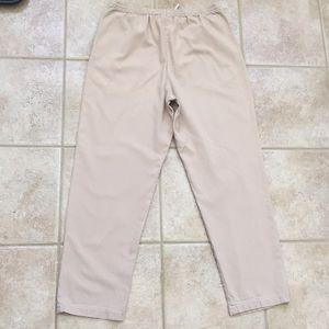 Orvis Pants - Orvis Casual Cotton Twill Pull-on Khaki Pants